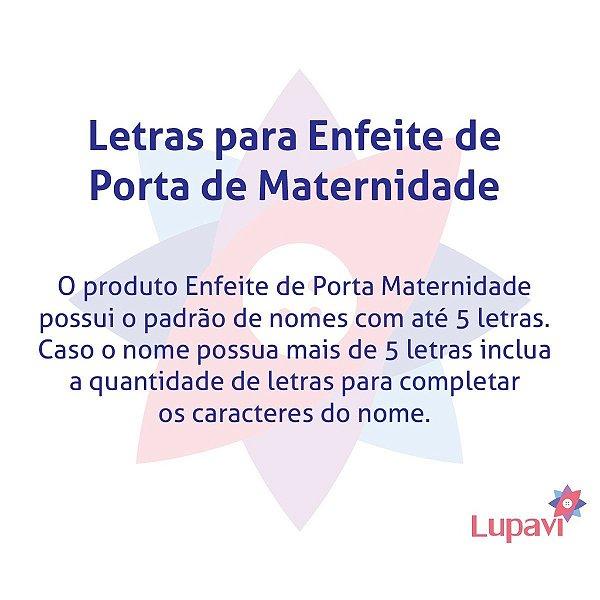 Enfeite Porta Maternidade Patchwork Elo7