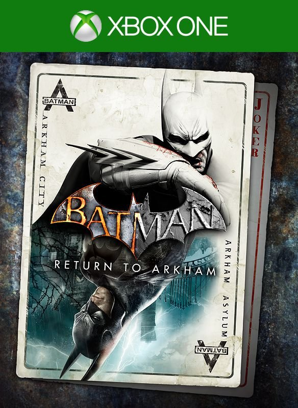 Batman: Return to Arkham - Mídia Digital - Xbox One - Xbox Series X S