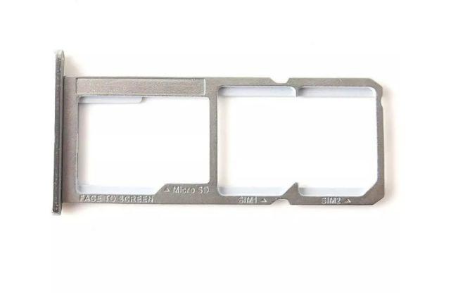 GAVETA CHIP SIM CARD MOTO  G6 PLAY PRATA