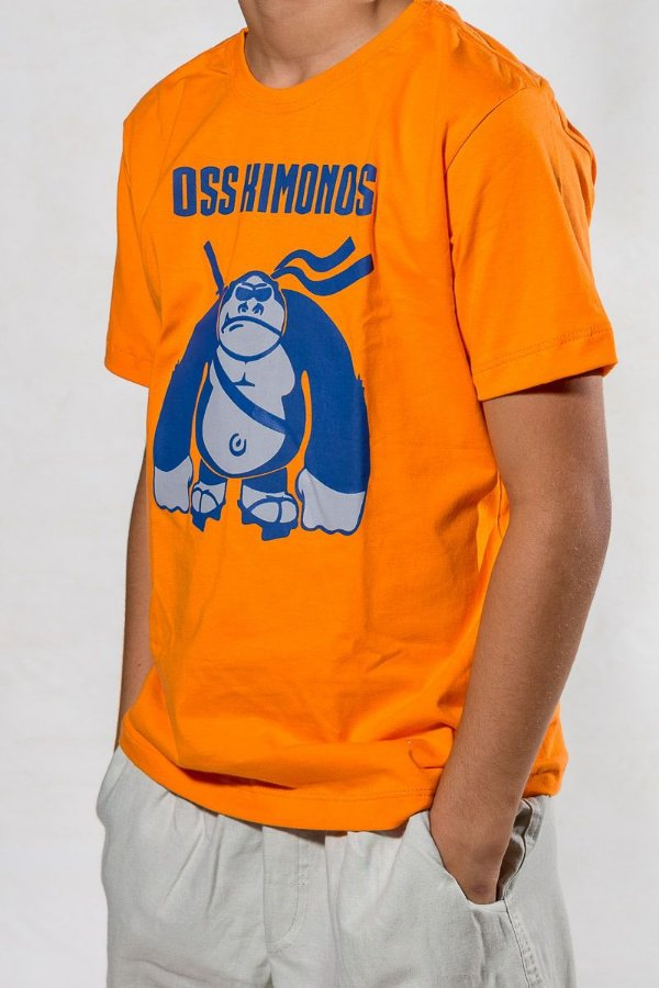 Camiseta Infantil Gorila Jiu-Jitsu