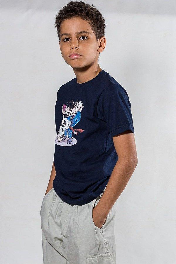 Camiseta Infantil Carneirinho Marrento