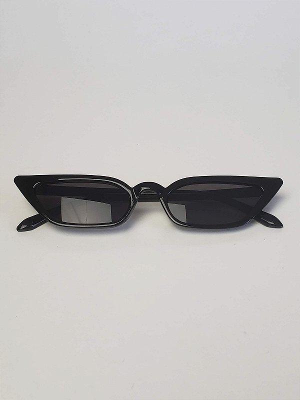 2ad61c46c3a2e Óculos de Sol NY gatinho preto com com lentes pretas - A loja mais ...