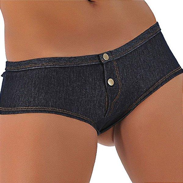 Caleçon em jeans boa de briga
