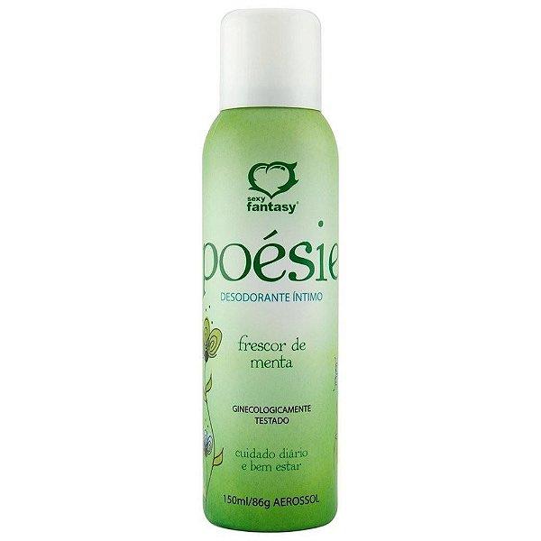 Poésie Desodorante Íntimo 90G Menta
