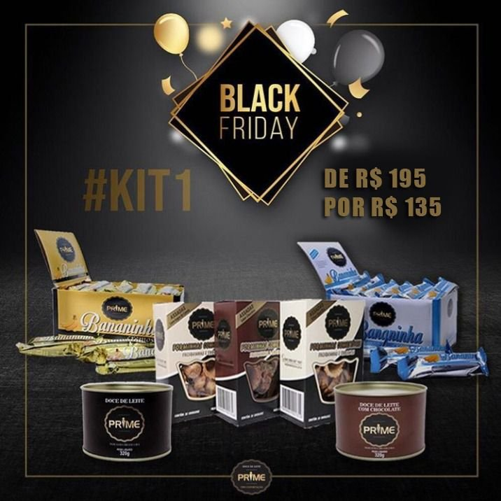 Kit 01 - Black Friday 2019