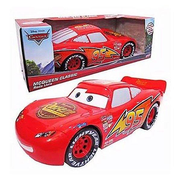 Carro Super Relâmpago Roda Livre McQueen - Toing 28225