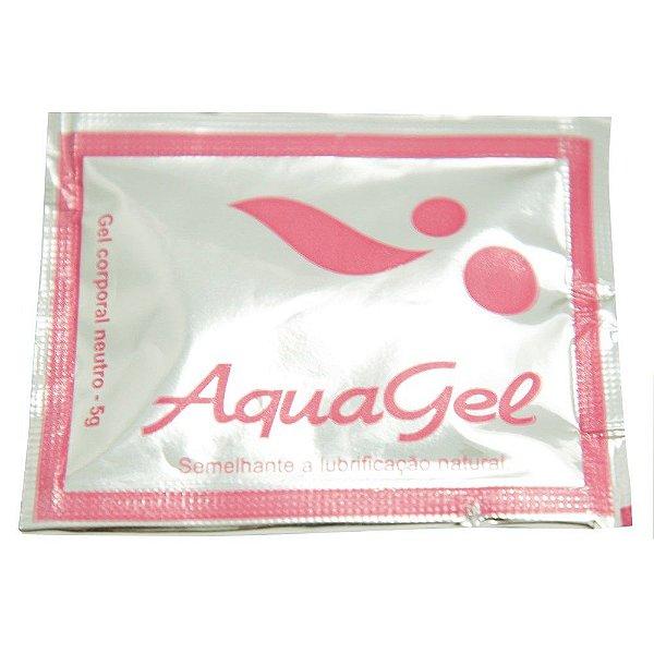 Lubrificante aqua gel neutro em sachê 5 g sexy fantasy