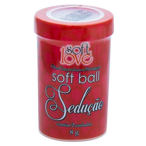 Soft ball sedução 2 unidades