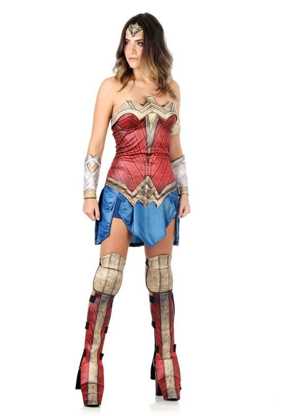 Fantasia Mulher Maravilha - Batman Vs Superman