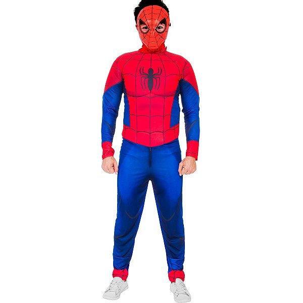 Fantasia Homem Aranha Adulto 1155