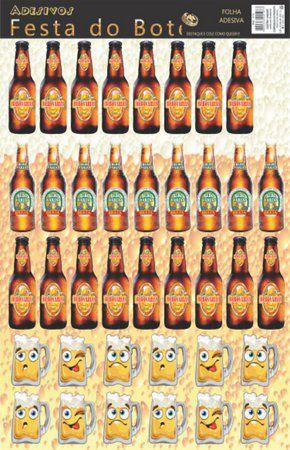 Adesivo Festa do Boteco com 39 Unidades