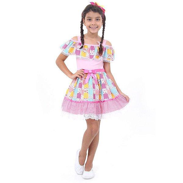 Vestido Junina Caipira Julina 39164
