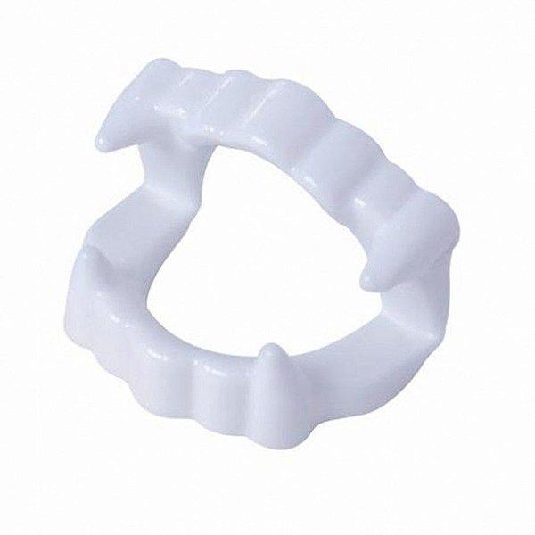 Dentadura Vampiro Plástico