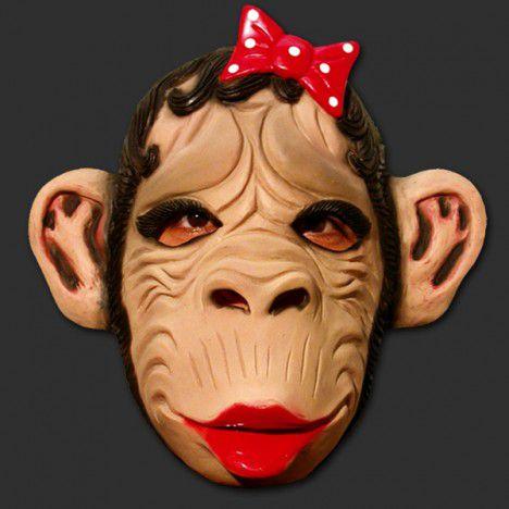 Mascara Macaca com Laco