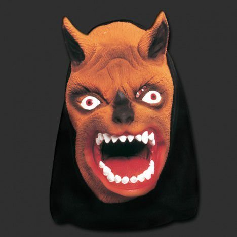 Mascara Lobo com capuz 758