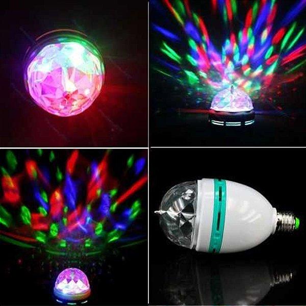 Lampada de LED giratória
