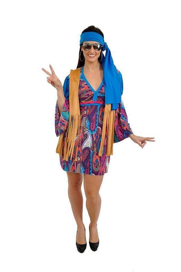 Fantasia Vestido Hippie LC