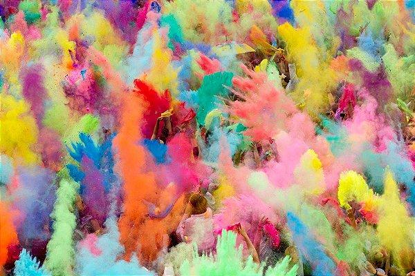 Po Colorido para Festa
