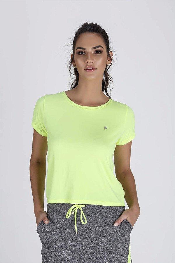 d4dbde3c1 Blusa Fitness Feminina Cropped Amarelo Neon Epulari - Epulari: Moda ...