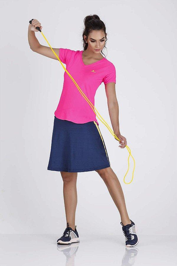Saia Shorts Fitness Azul Marinho Epulari