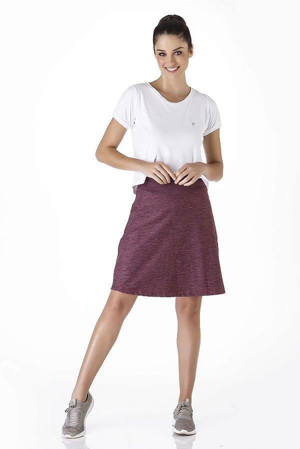 Shorts Saia Roxo Mesclado Poliamida UV+50 Epulari