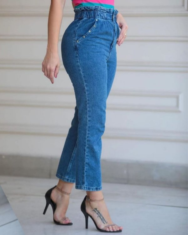 Calça Jeans Clochard