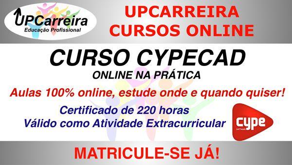 Curso Cypecad Online - Especialização em Software para Projeto/Calculo Estrutural com Certificado 220h