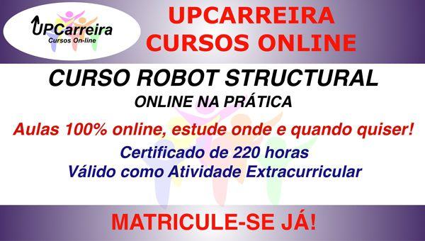 Curso Robot Structural  Online com NBR 6118 | Especialização em Software para Análise Estrutural com Certificado 220h