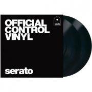 Vinyl Timecode Serato Preto (PAR)