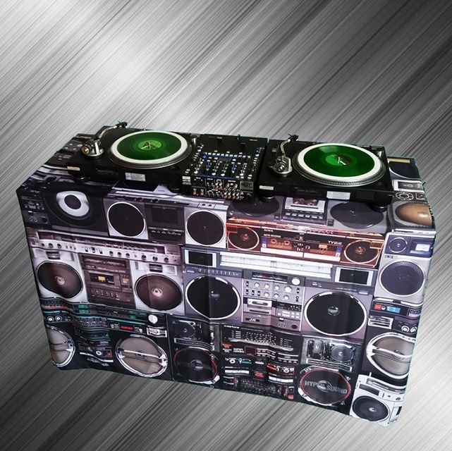Capa Mesa Dj - Cover Boombox