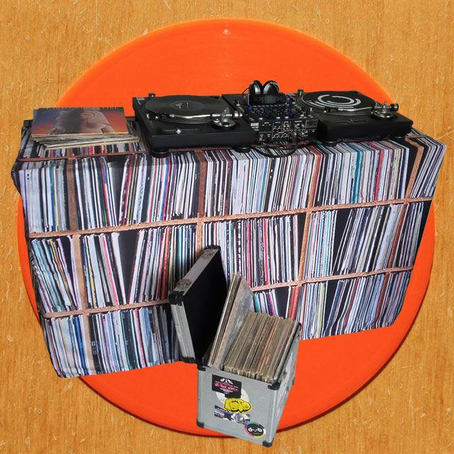 Capa Mesa Dj - Cover Vinyl Collection