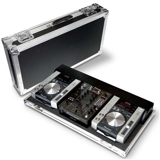 Case para cdjs, mixers, toca-discos, controladoras, etc...