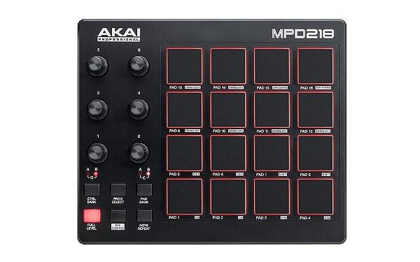 AKAI MPD218 - Controlador MIDI/USB