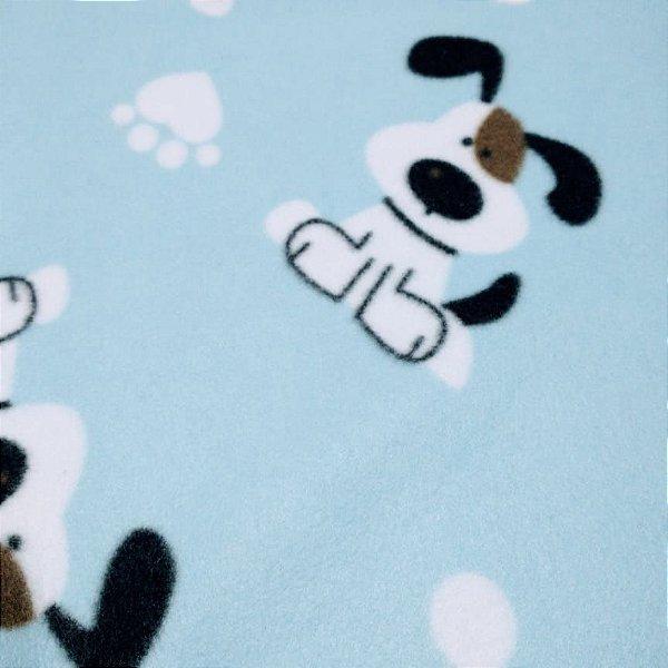 Tecido Soft 100% Poliéster Estampado Cachorrinho 1.40x1,00m