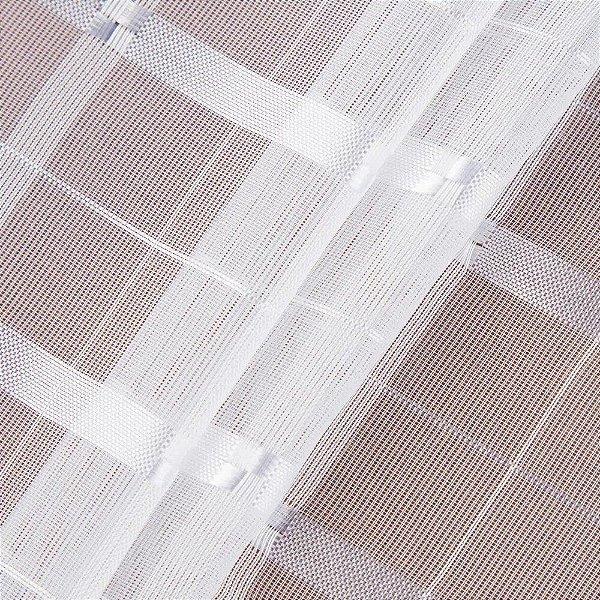Tecido Para Cortina Voil Trabalhado Super - Largura 3,00m - BEL-41