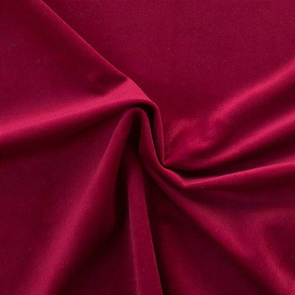 Tecido Para Sofá e Estofado Veludo Inca Vermelho - 05 - INC-05