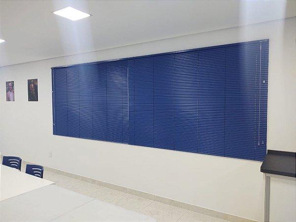Persiana Horizontal Azul