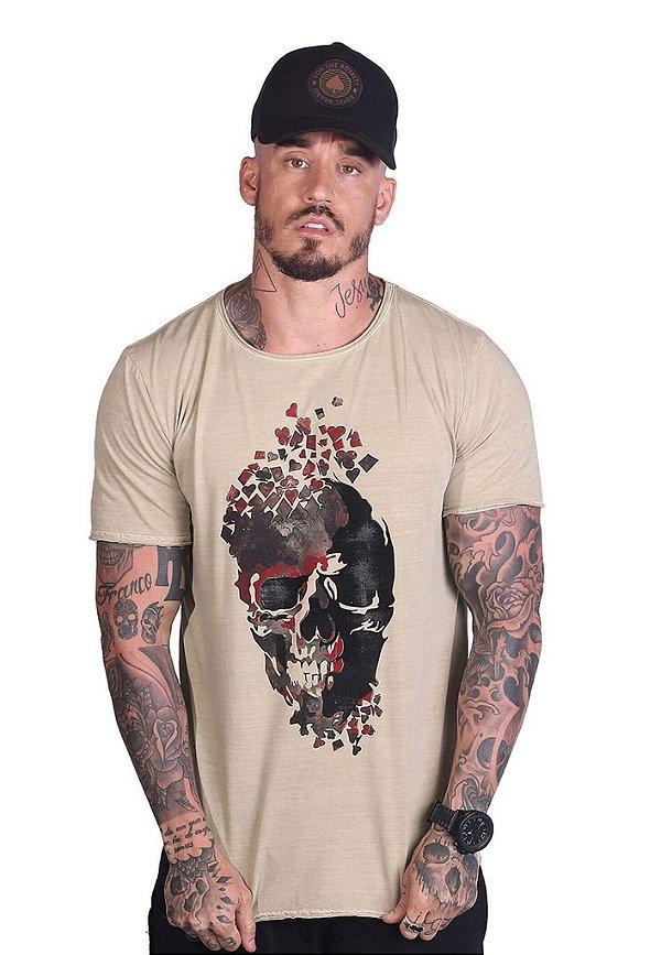 Camiseta Skull & Suits