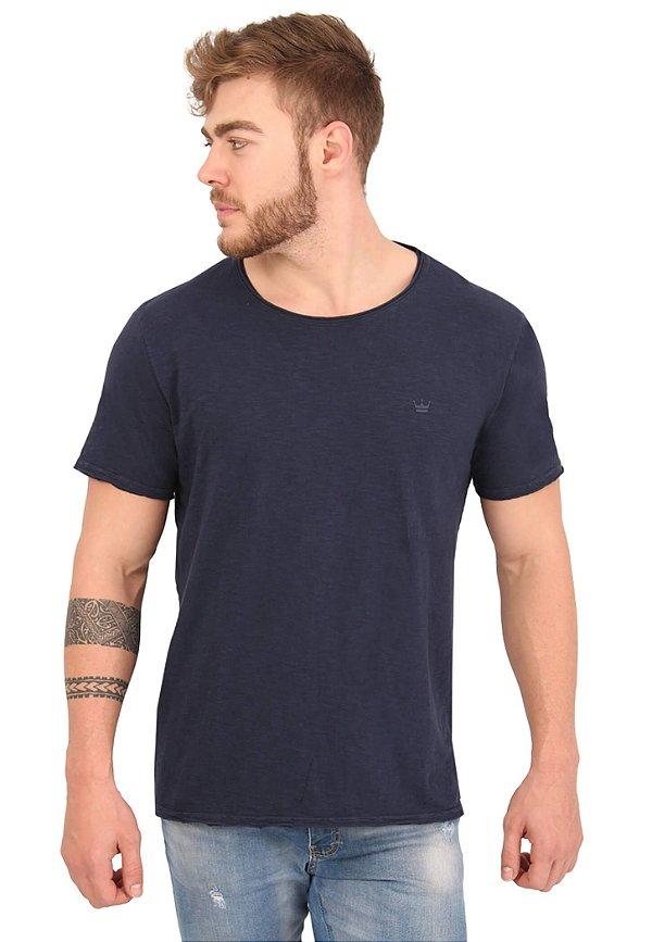 Camiseta Básica Flamê Marinho