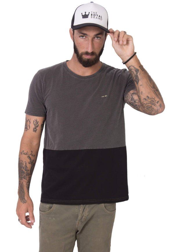 Camiseta Black Graphite