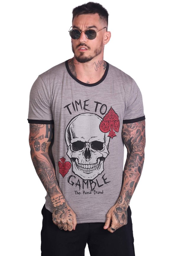 Camiseta Time to Gamble