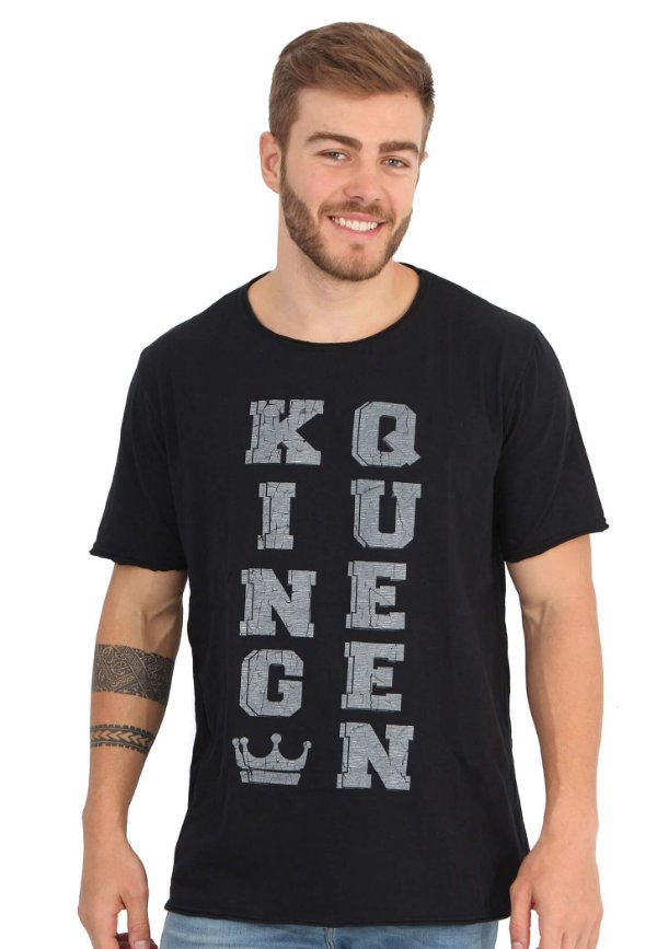 Camiseta King Queen