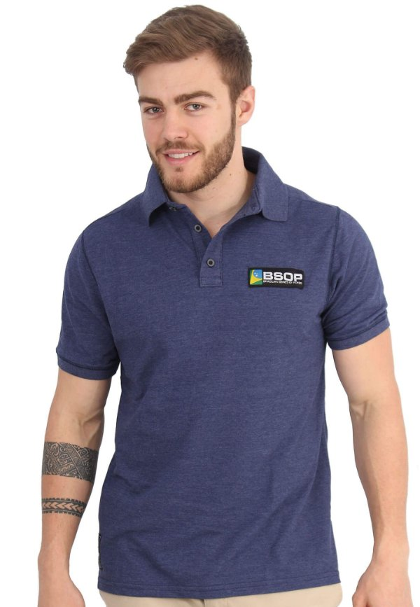 Polo BSOP Azul Denim