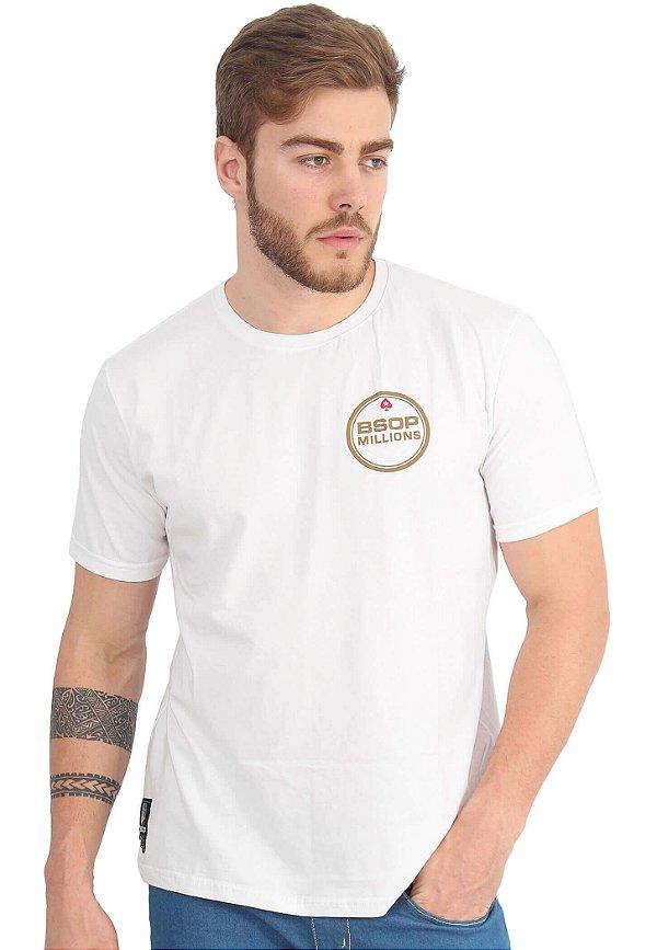 Camiseta BSOP Millions Branco