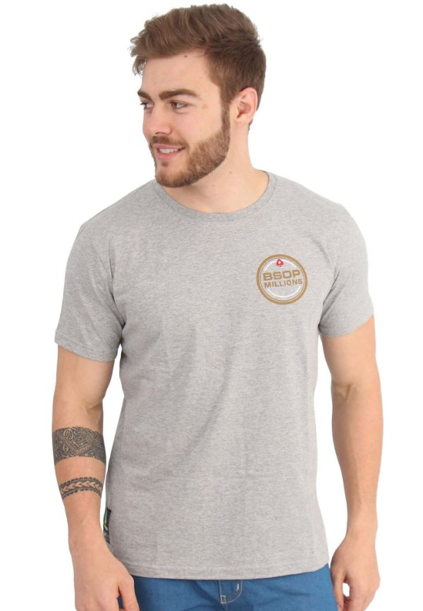 Camiseta BSOP Millions Mescla