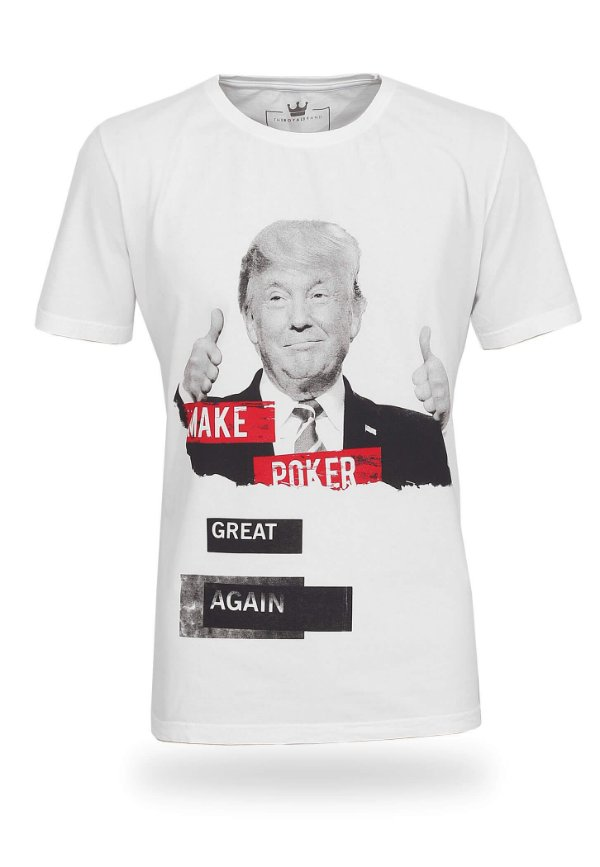 Camiseta Make Poker Great Again