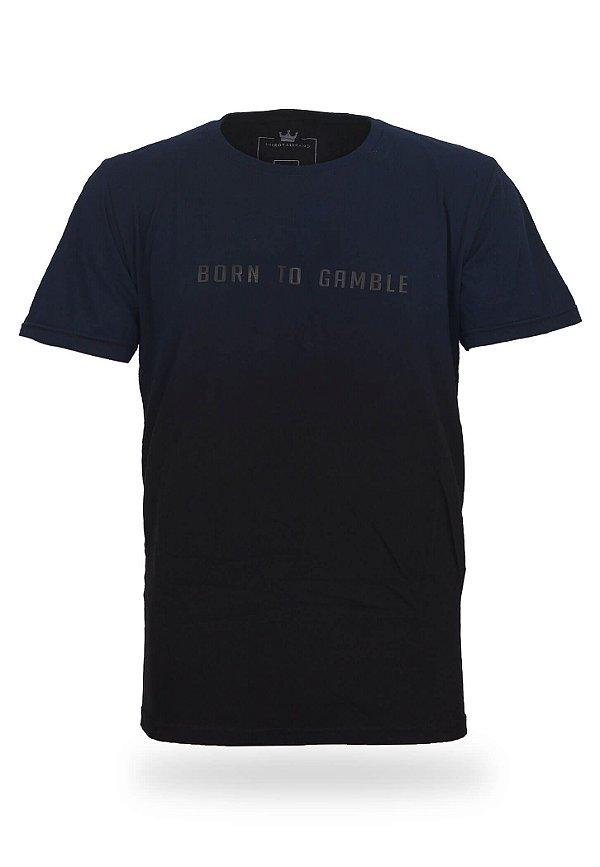 Camiseta Born to Gamble Space