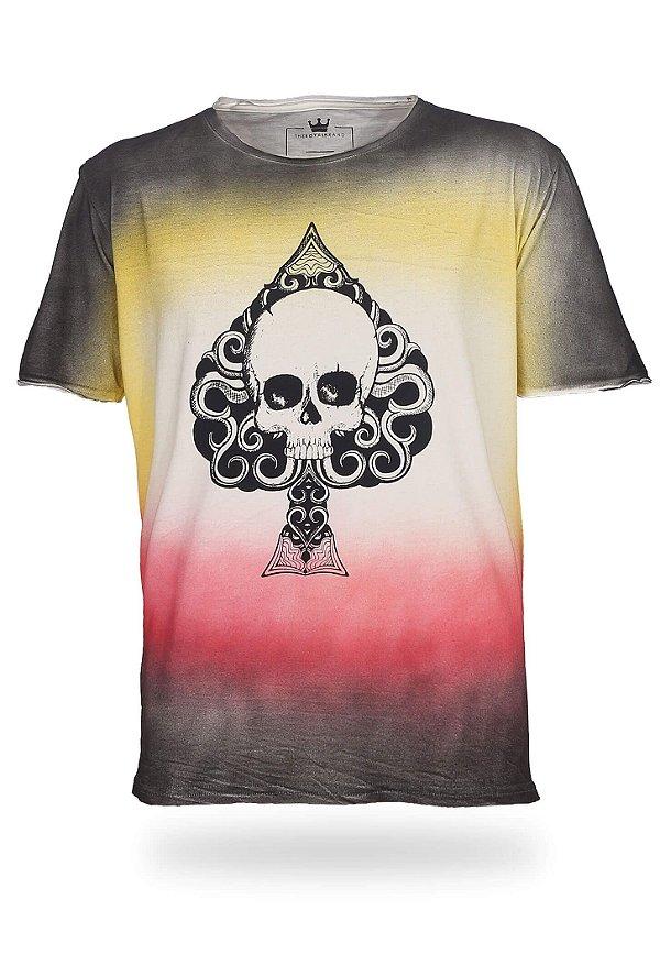 Camiseta Spade Skull