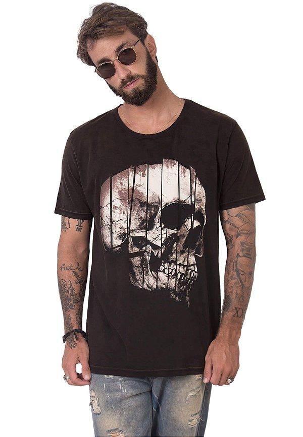 Camiseta Puzzle Skull