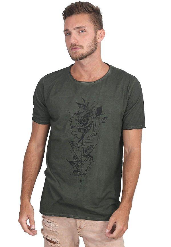 Camiseta Geometry Rose